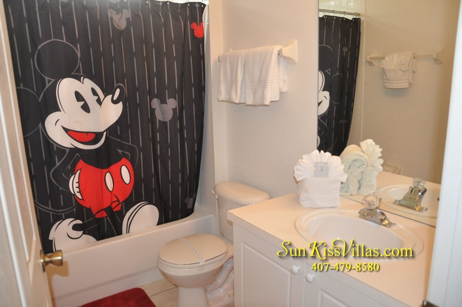 Disney Vacation Rental Home - Mickey's Cottage - Bathroom