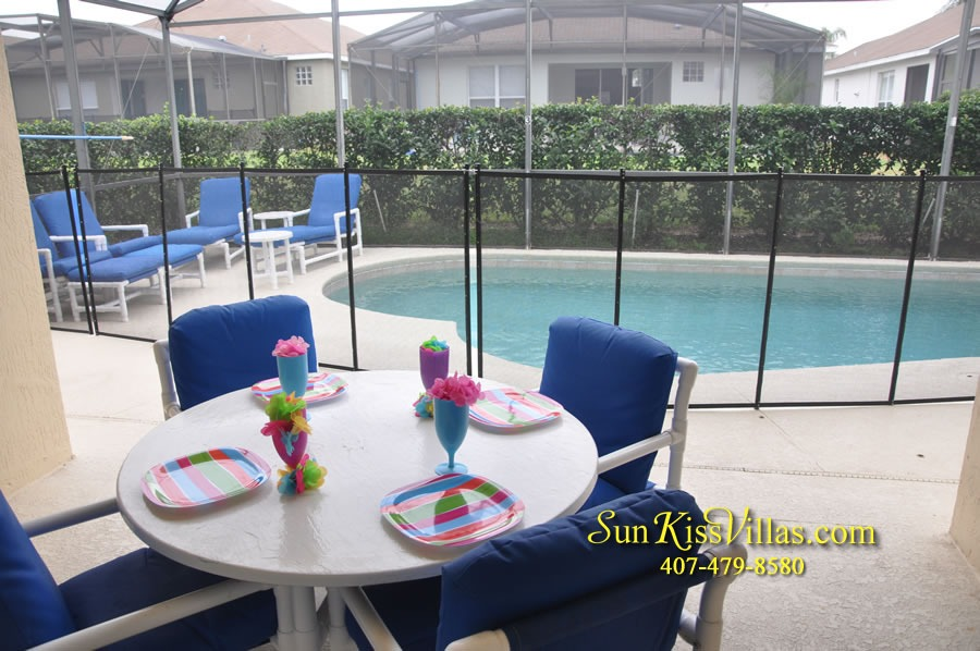 Disney Vacation Rental Home - Mickey's Cottage - Pool and Covered Lanai