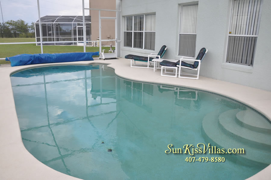 Disney Vacation Rental Home - Orange View Pool