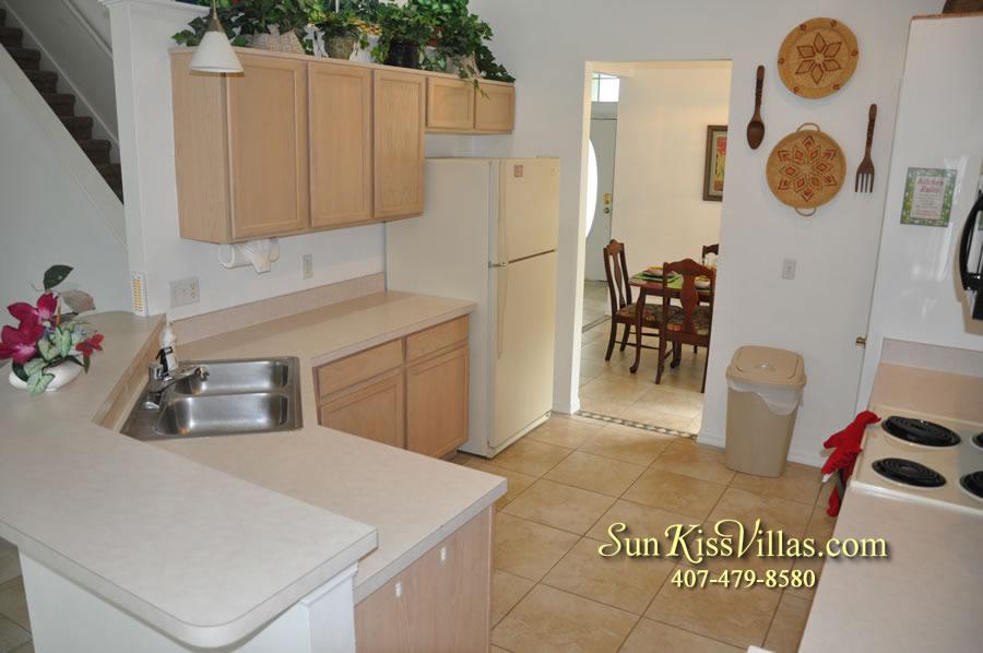 Disney Vacation Rental Home - Orange View Kitchen