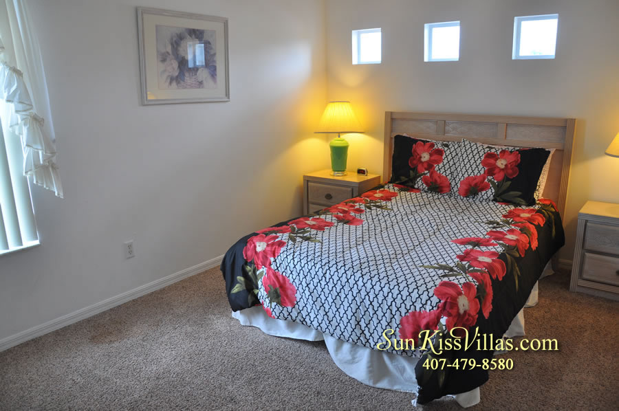 Disney Vacation Rental Home - Orange View Double Bedroom