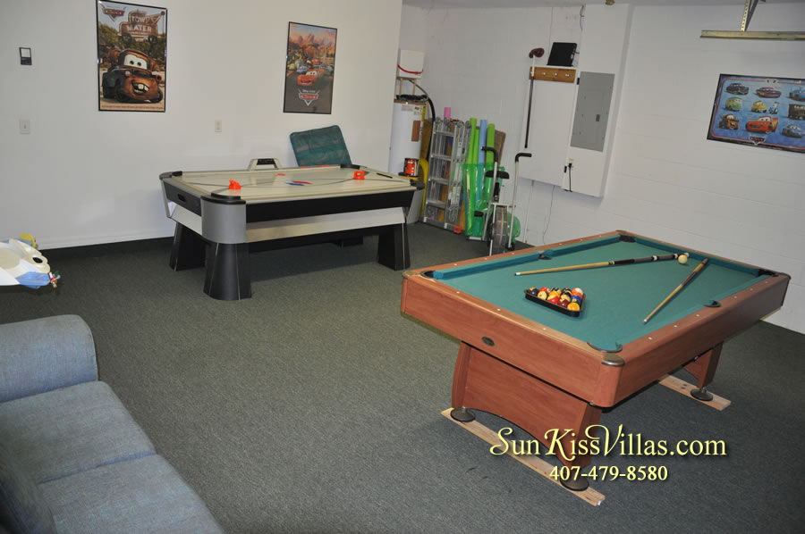 Disney Vacation Rental Home - Orange View Game-room