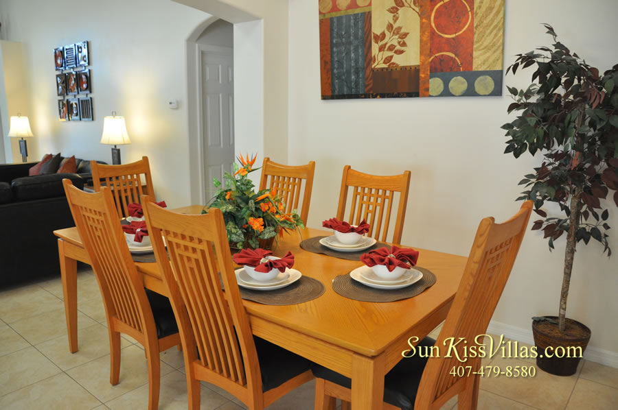 Orlando Disney Vacation Rental Solana - Pelican Point - Dining