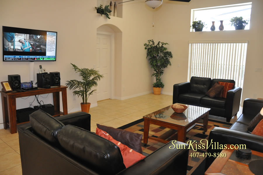 Orlando Disney Vacation Rental Solana - Pelican Point - Family Room