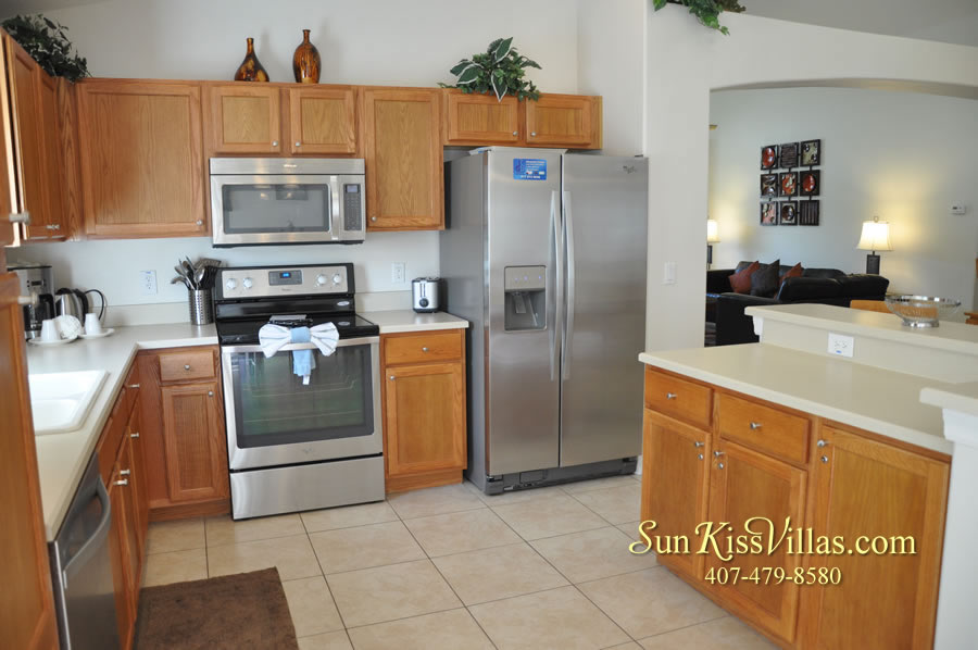 Orlando Disney Vacation Rental Solana - Pelican Point - Kitchen