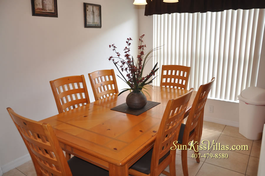 Orlando Disney Vacation Rental Solana - Pelican Point - Breakfast