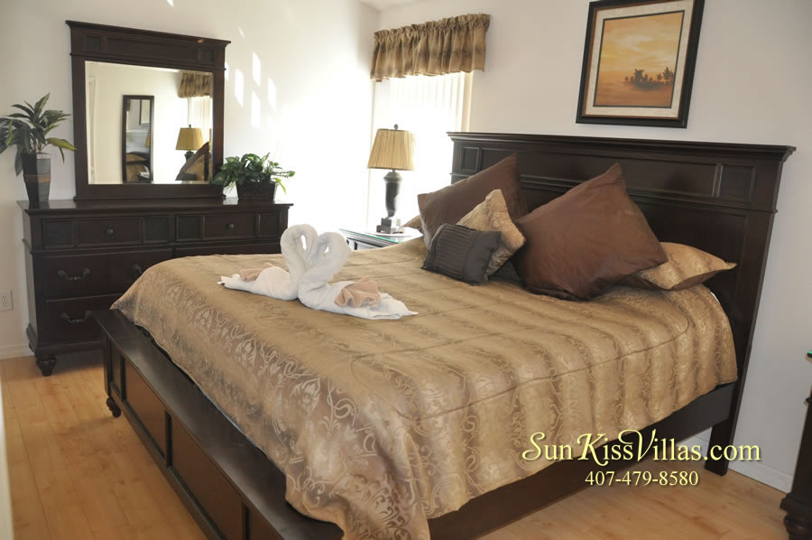 Orlando Disney Vacation Rental Solana - Pelican Point - Bedroom