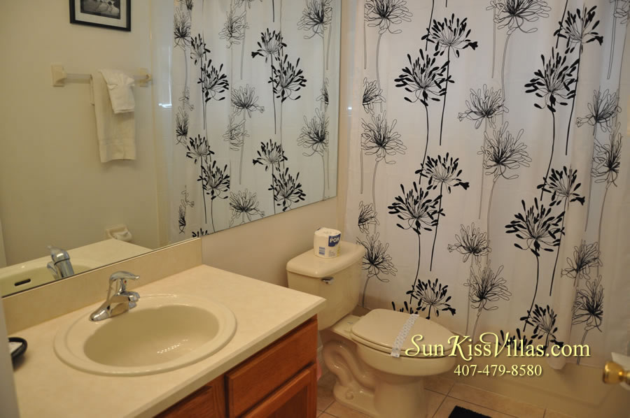 Orlando Disney Vacation Rental Solana - Pelican Point - Bathroom