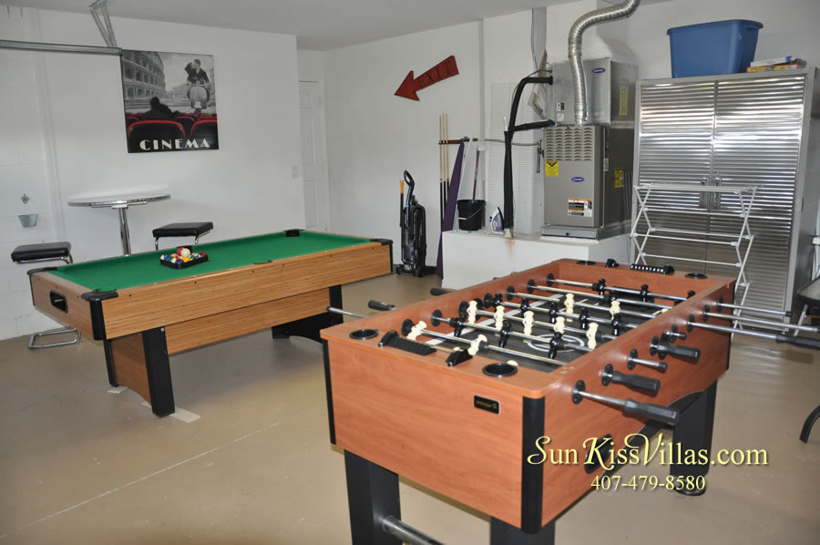 Orlando Disney Vacation Rental Solana - Pelican Point - Game Room