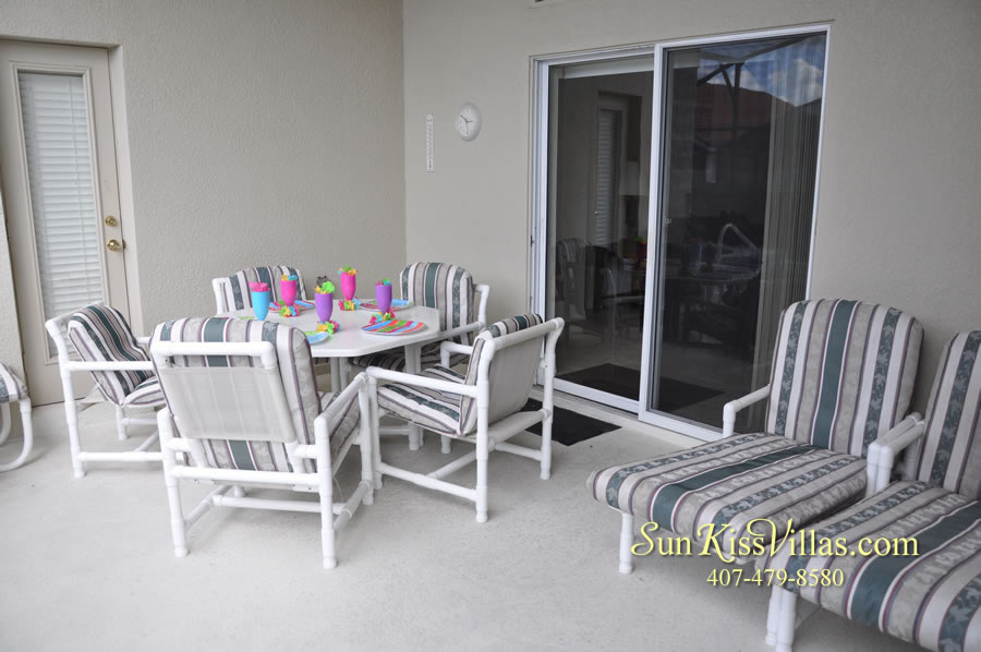 Orlando Disney Vacation Rental Solana - Pelican Point - Covered Lanai