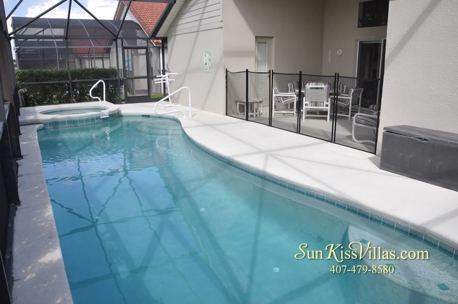 Orlando Disney Vacation Rental Solana - Pelican Point - Pool and Spa
