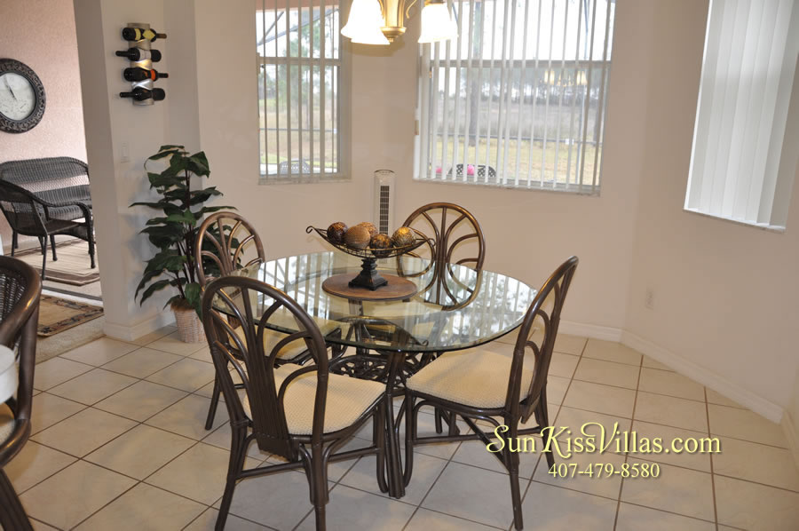 Vacation Home Rental Near Disney World - Sapphire Blue - Breakfast