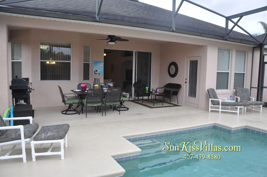 Vacation Home Rental Near Disney World - Sapphire Blue -