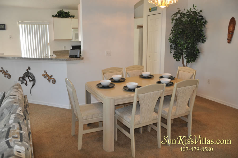Disney Vacation Rental Home - Shangri-la Dining