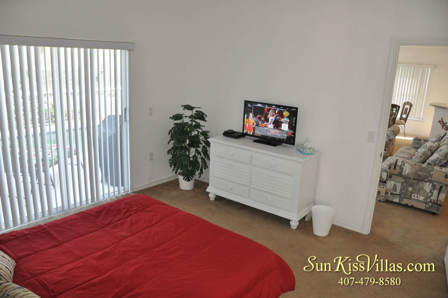 Disney Vacation Rental Home - Shangri-la Master Bedroom