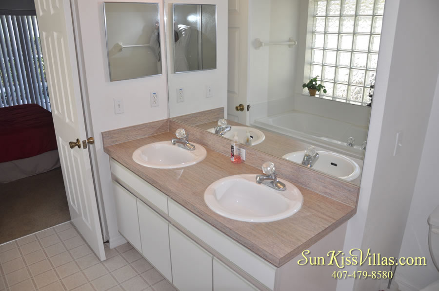 Disney Vacation Rental Home - Shangri-la Bathroom