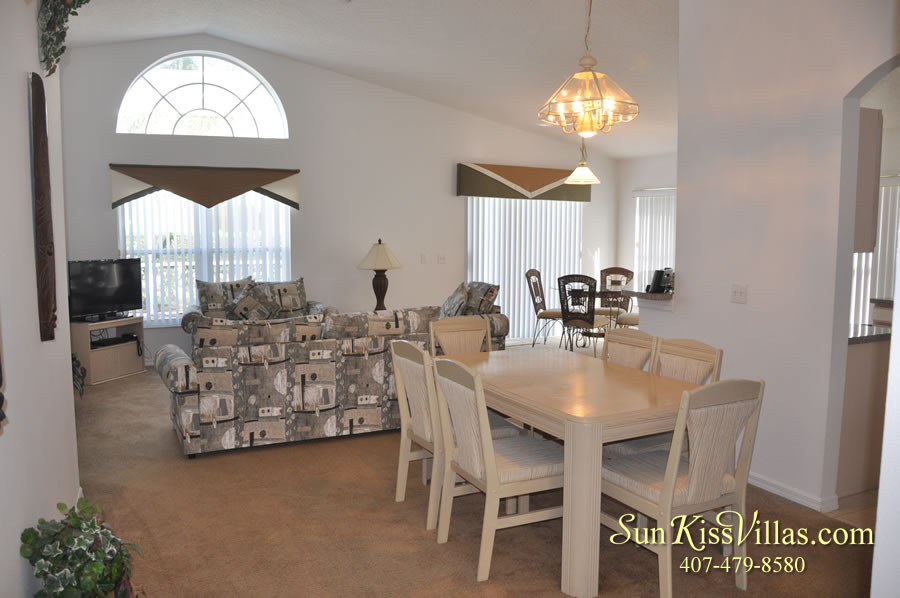 Disney Vacation Rental Home - Shangri-la Family Room