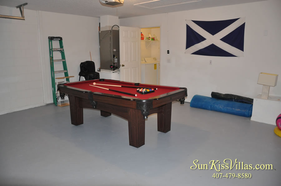 Disney Vacation Rental Home - Shangri-la Game Room