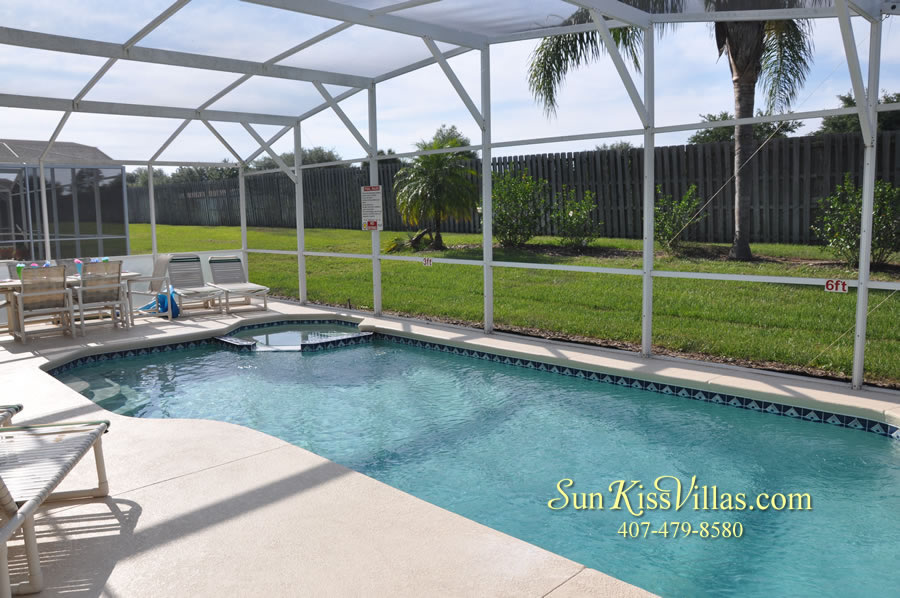 Disney Villa Rental - Sunrise - Pool and Spa