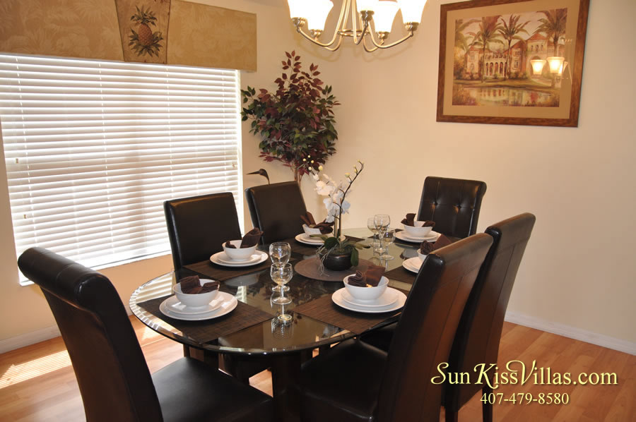 Treasure Cove - Disney Vacation Rental Solana - Dining