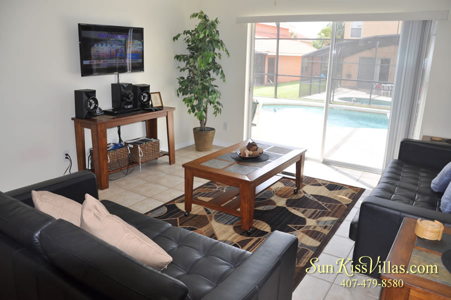 Treasure Cove - Disney Vacation Rental Solana - Family Room