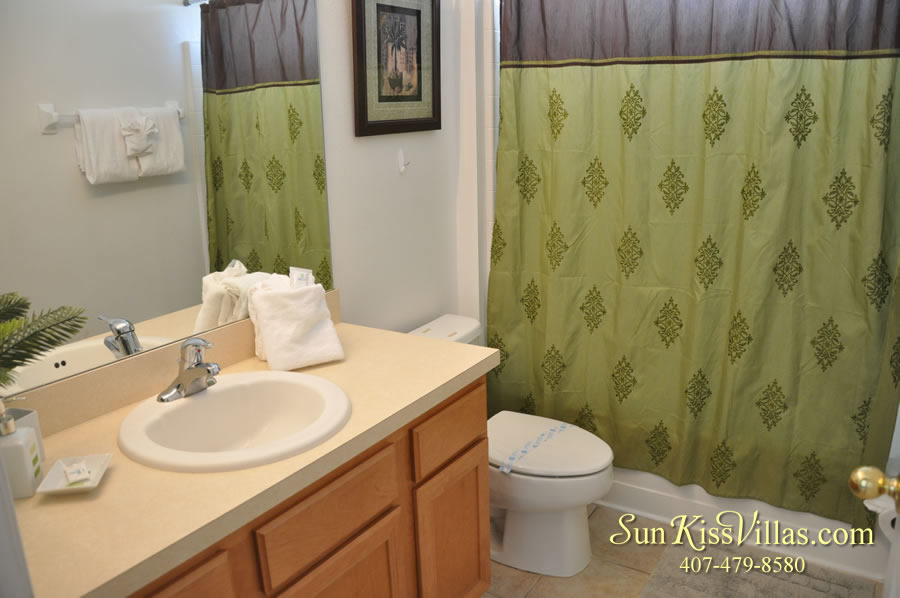 Treasure Cove - Disney Vacation Rental Solana - Bathroom