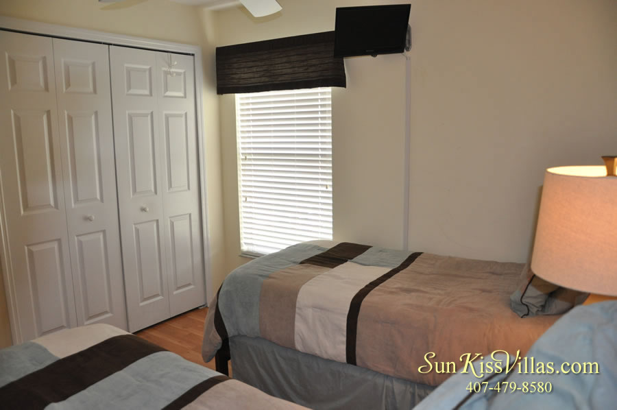 Treasure Cove - Disney Vacation Rental Solana - Twin Bedroom