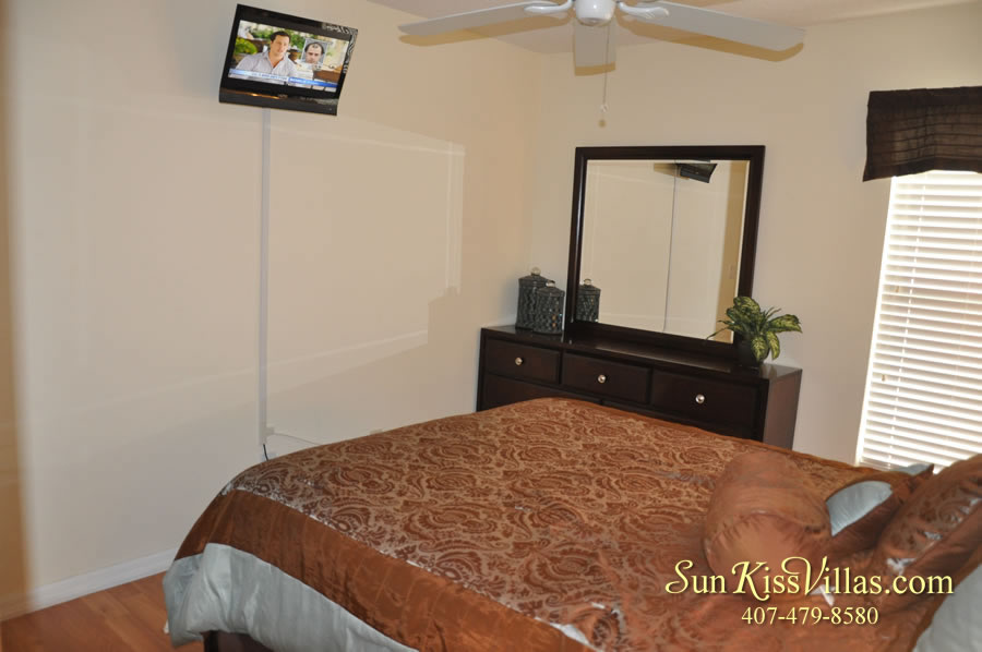 Treasure Cove - Disney Vacation Rental Solana - Bedroom
