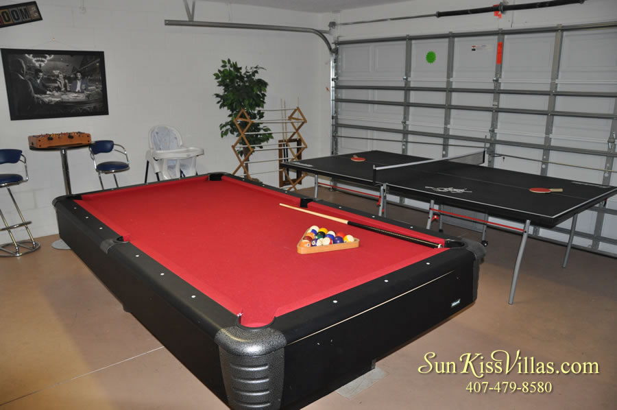 Treasure Cove - Disney Vacation Rental Solana - Game Room