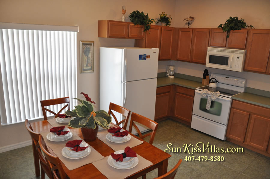 Disney Villa Rental - Tuscan Sun - Kitchen