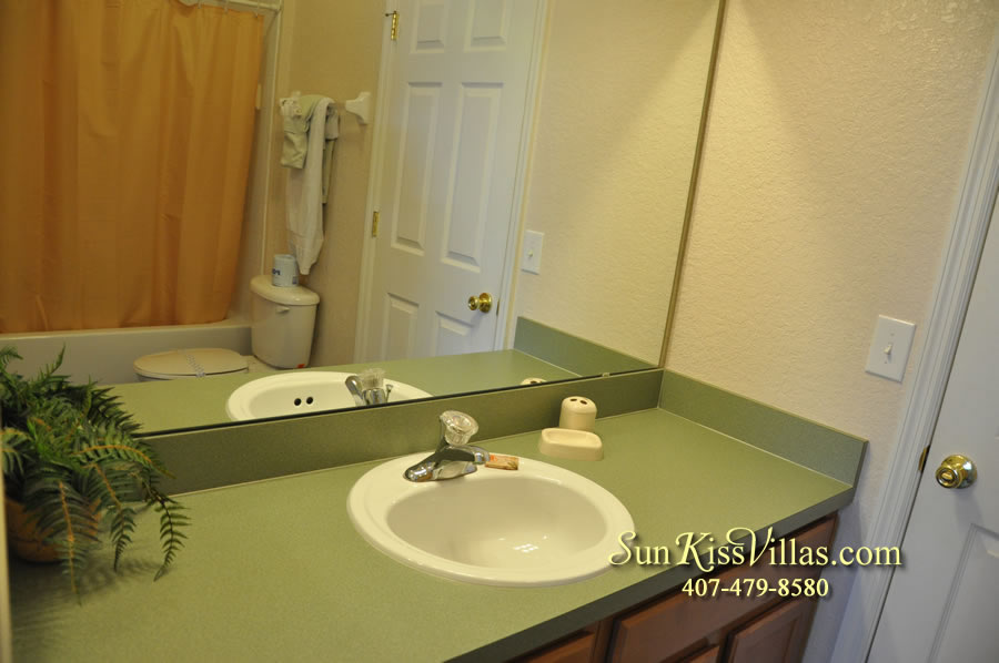 Disney Villa Rental - Tuscan Sun - Bathroom
