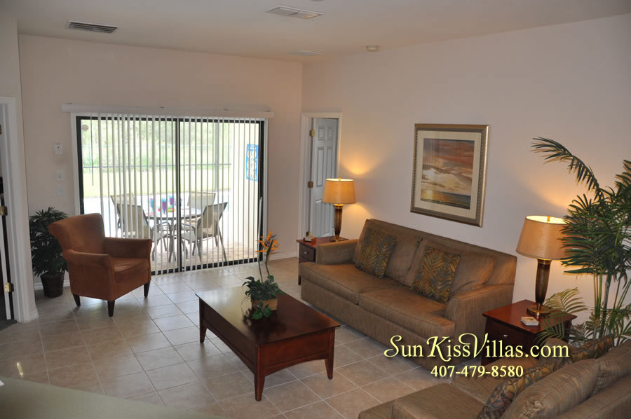 Disney Villa Rental - Tuscan Sun - Family Room