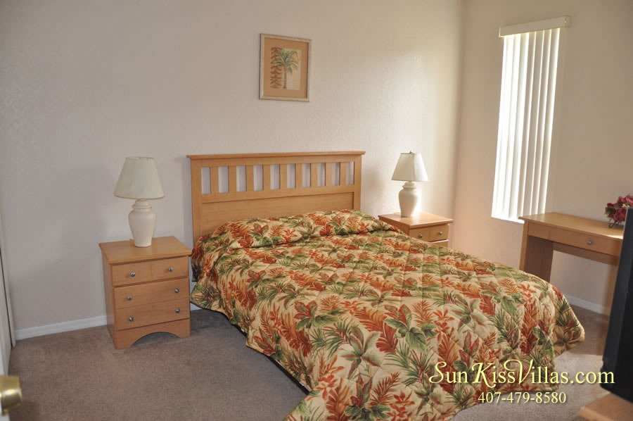 Vacation Townhouse Rental Disney - Trade Winds - Bedroom