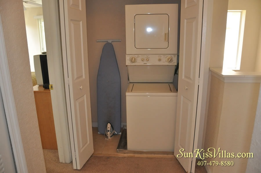 Vacation Townhouse Rental Disney - Trade Winds - Laundry