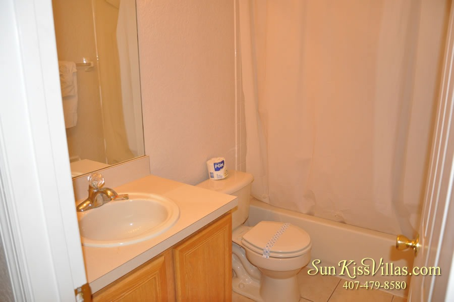 Vacation Townhouse Rental Disney - Trade Winds - Bathroom